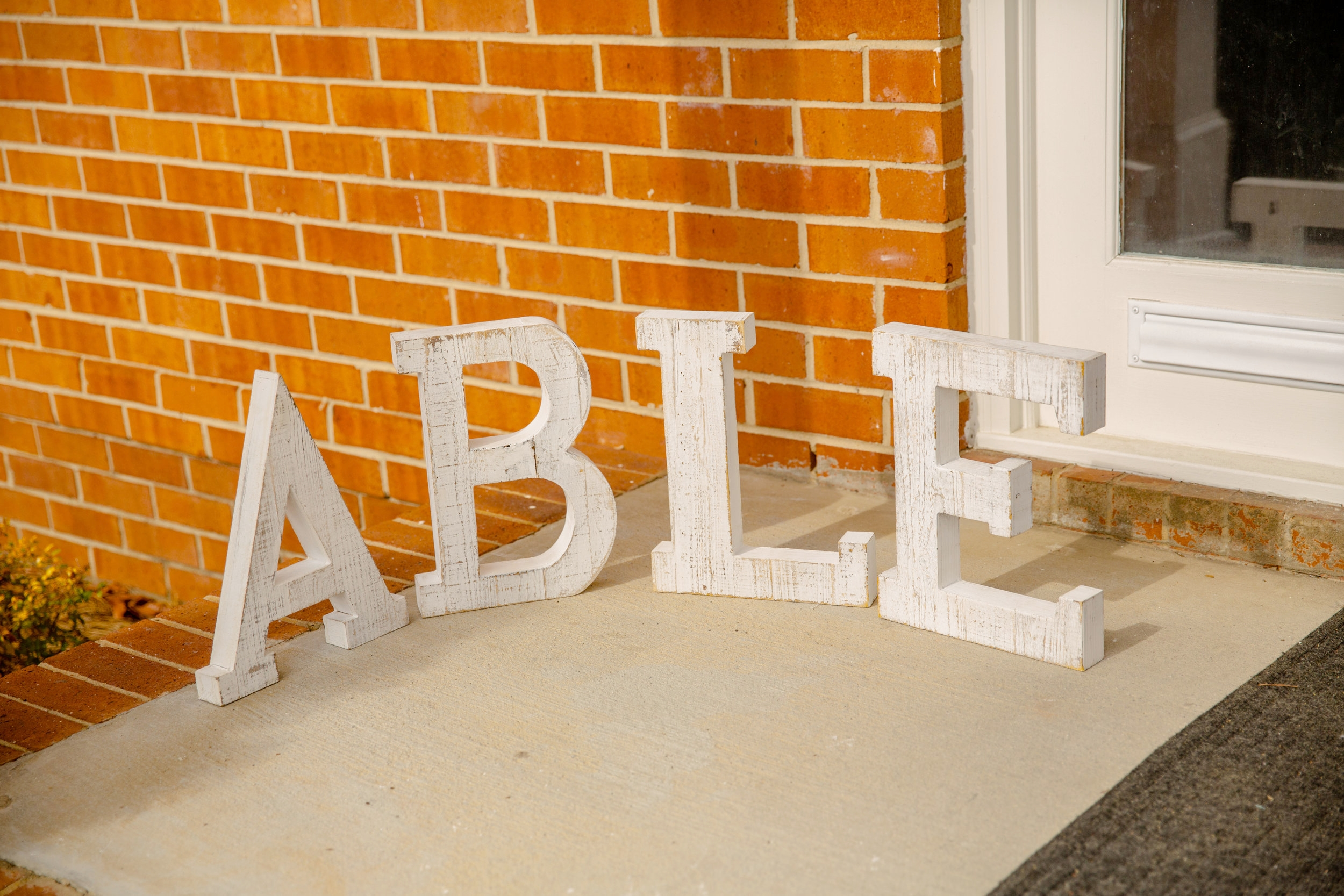 ABLE Outdoor Letters