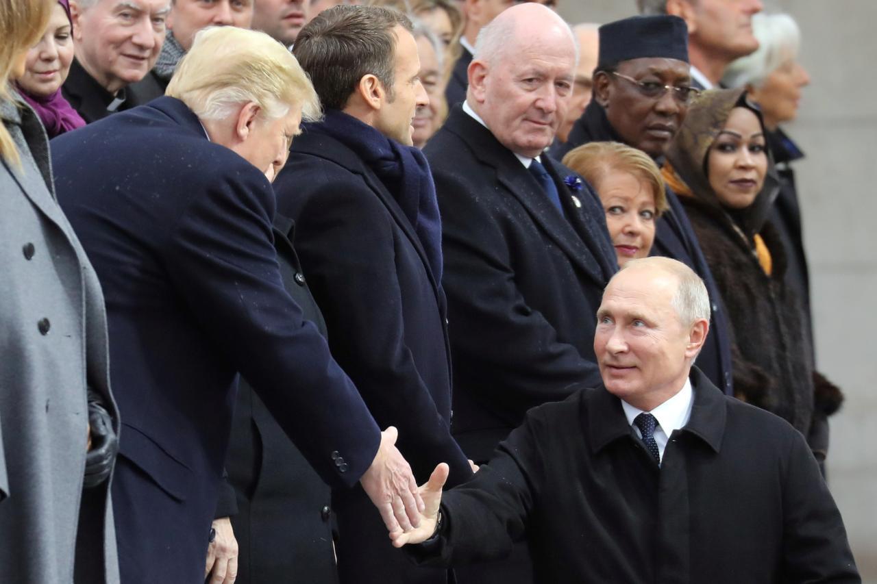 Президент США Дональд Трамп і президент Російської Федерації Володимир Путін Reuters
