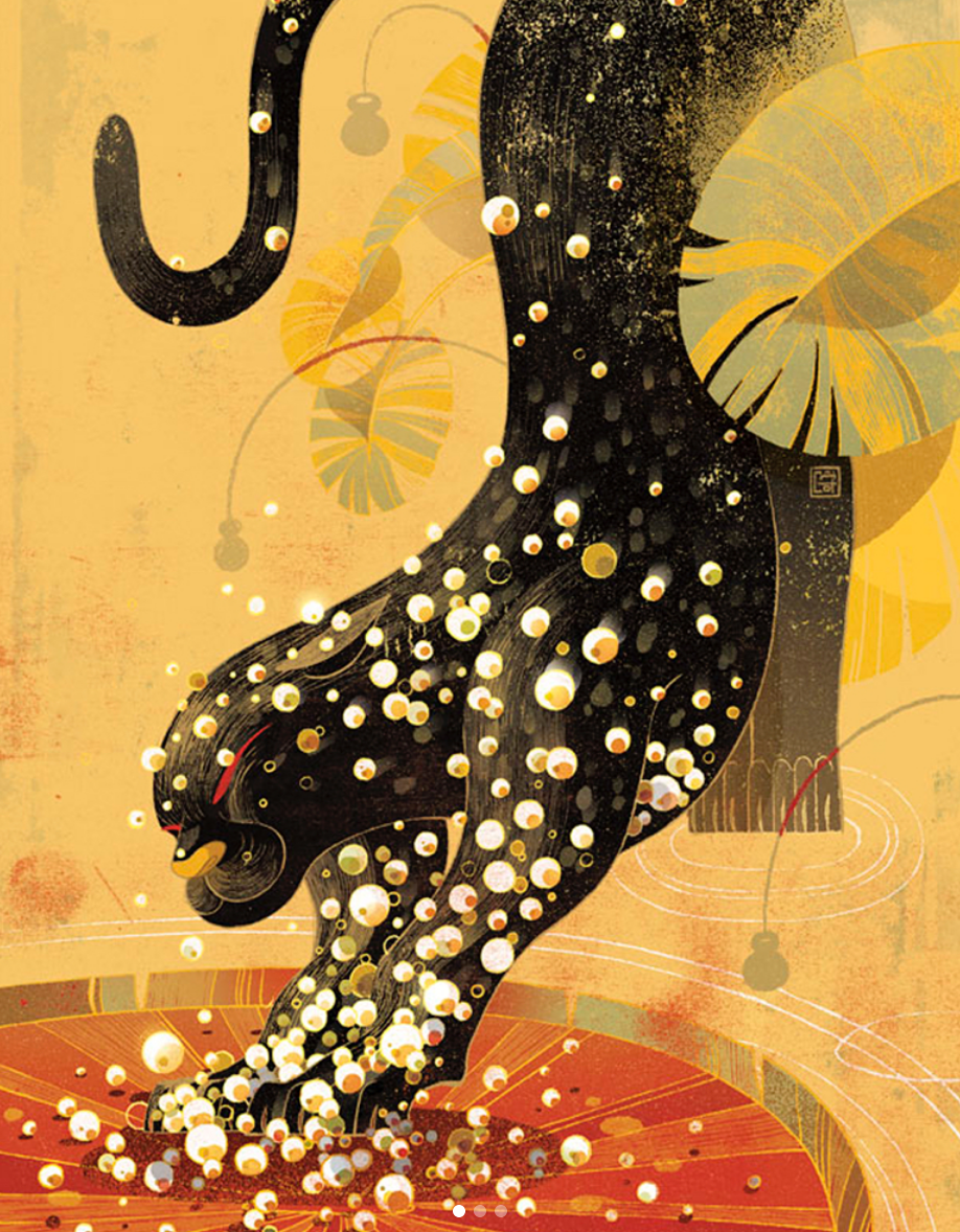 Above & Cover Image- Victo Ngai, Guest Speaker, Visual Arts Passage 2019