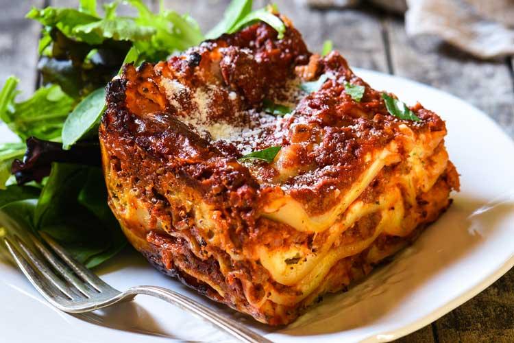 Italian Menu -