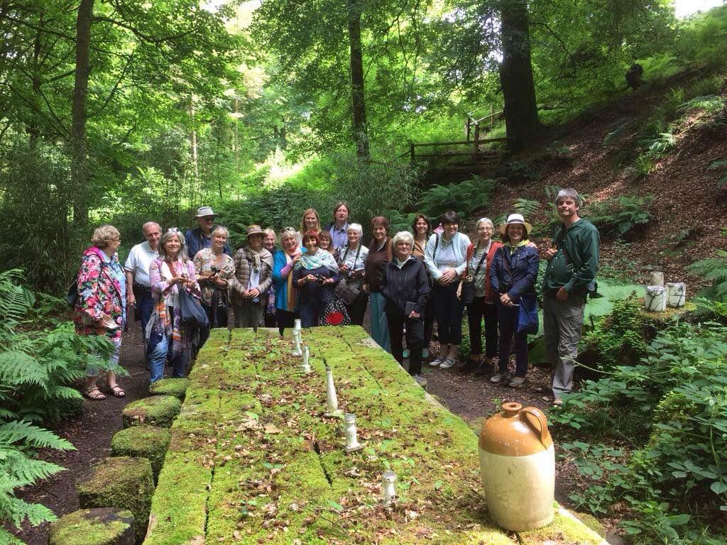 With Jimi Blake at Huntingbrook Gardens, Ireland, 2015