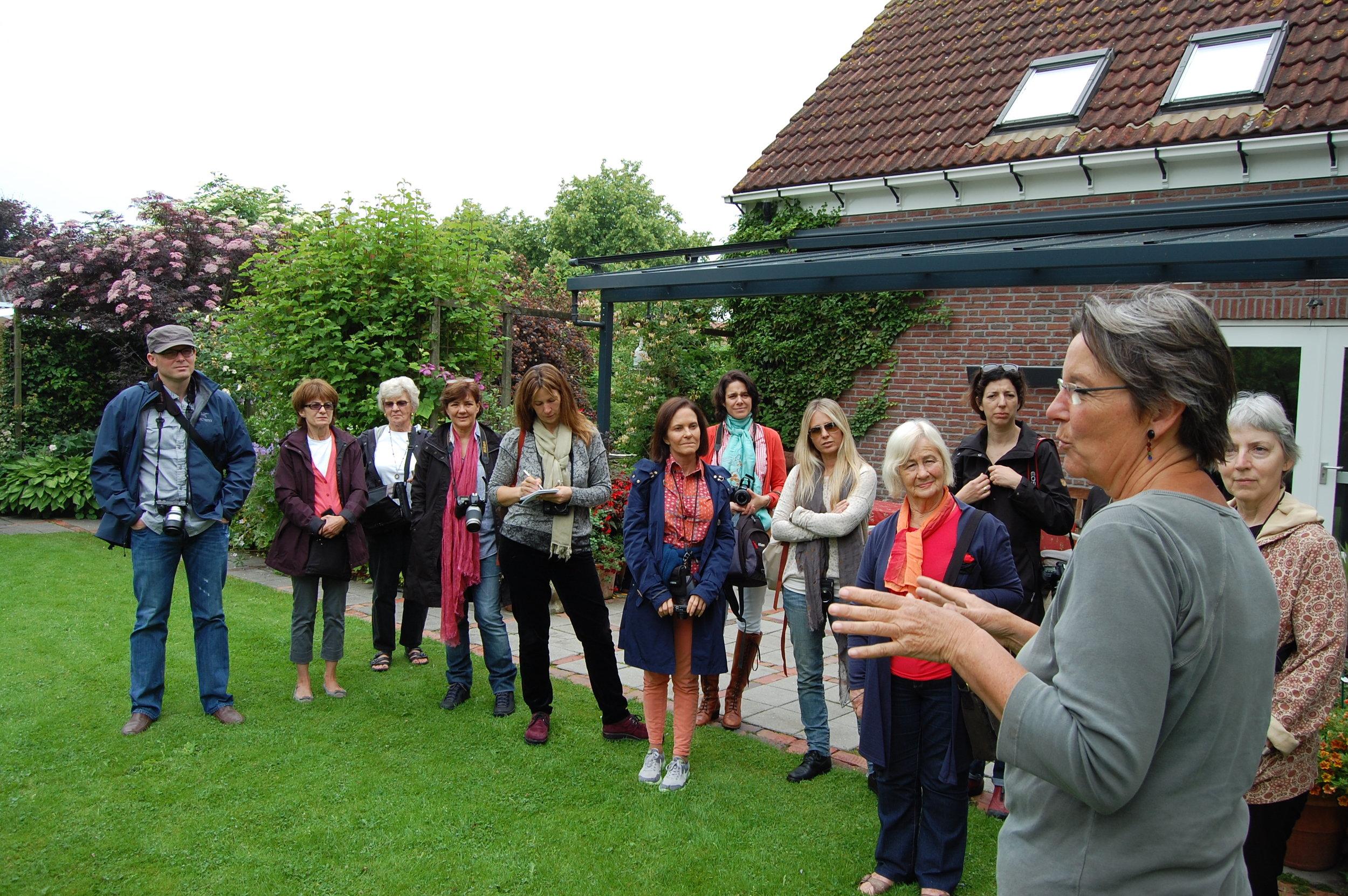 Com las Chicas Argentinas, at de Kleine Plantage, Groningen, northern Netherlands, 2013