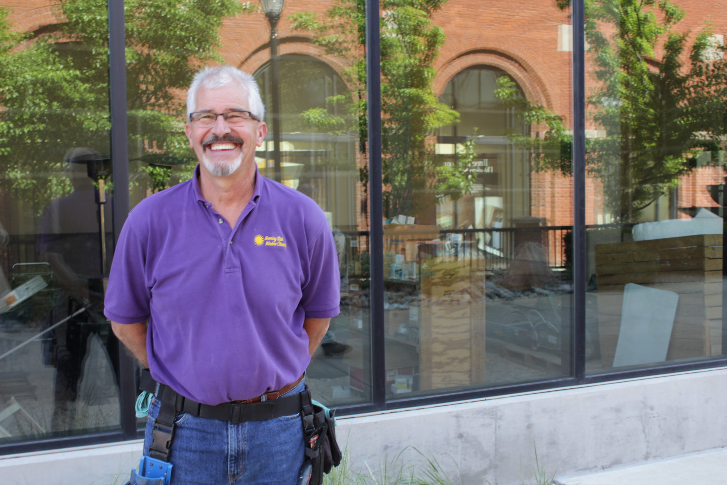 Roy Smith, Owner and Founder of Morning Star Window Cleaning