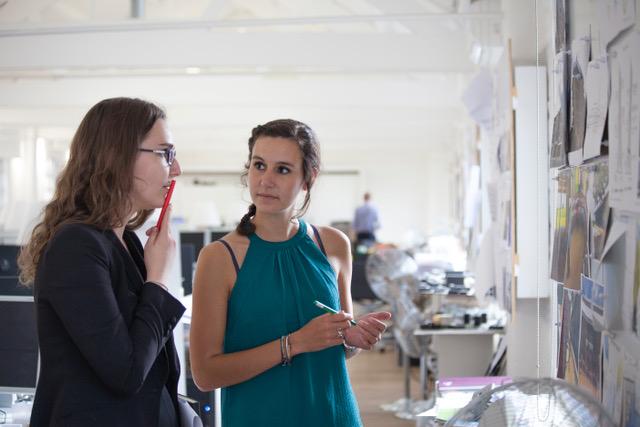 Ivana Plechacova and Cosntance Desenfant,Architectural Assistants.
