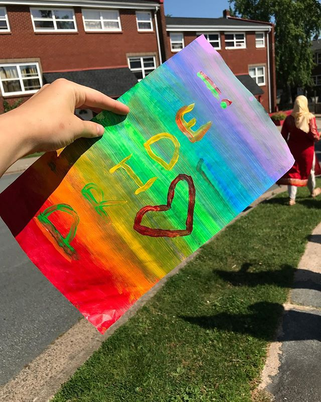 Thank you @atinylab for inviting us on your parade today! #lovewhoyoulove #halifaxpride