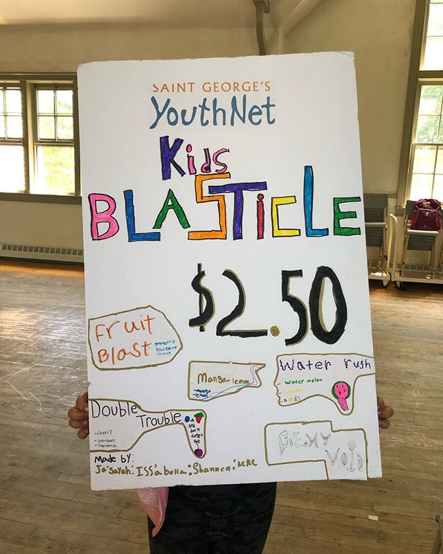 The kids have been working super hard in Business Camp to create a product the community can enjoy!  Introducing Kids Blasticles in collaboration with @deedeesicecream! They have created 5 amazing flavours for you to enjoy.  Come check them out this Friday (July 12) between 11-1 in front of Dee Dee's!  You won't wanna miss out in this limited edition treat!