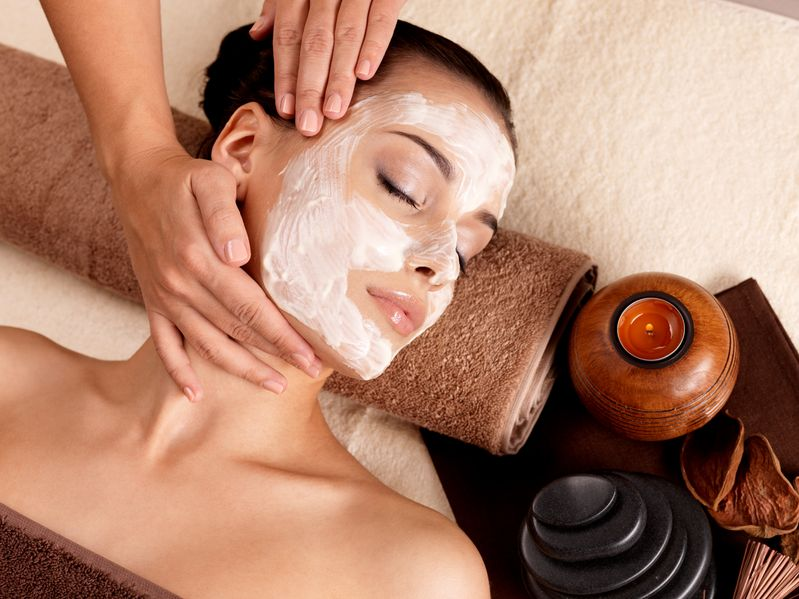 Facial Massage is relaxing, pampering and helps defy aging!