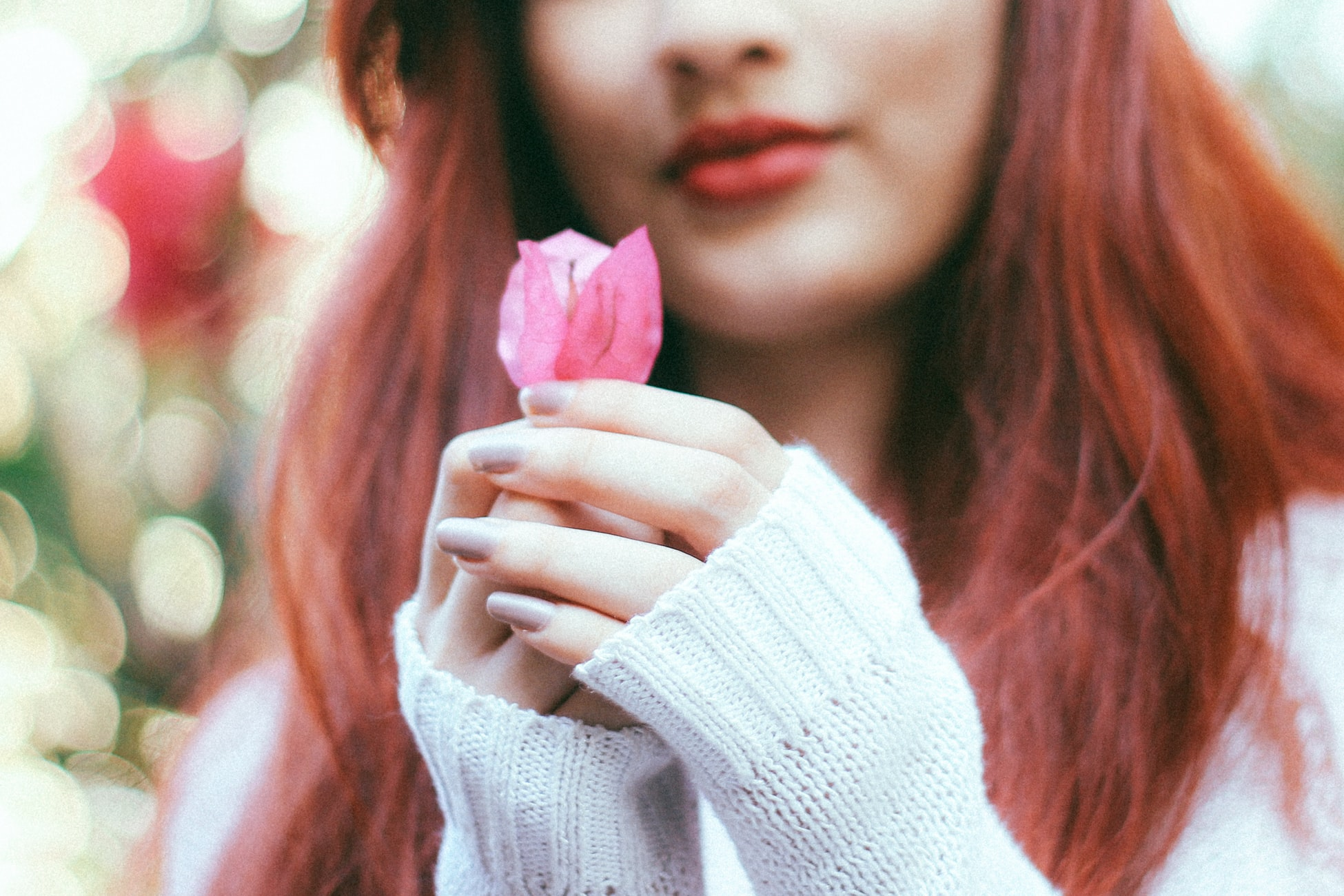 Vegan girl with a flower.jpg