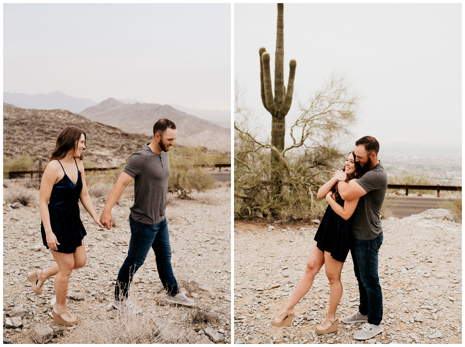 South Mountain Engagement Session Phoenix Wedding Photographer Ashtyn Nicole Photo 10