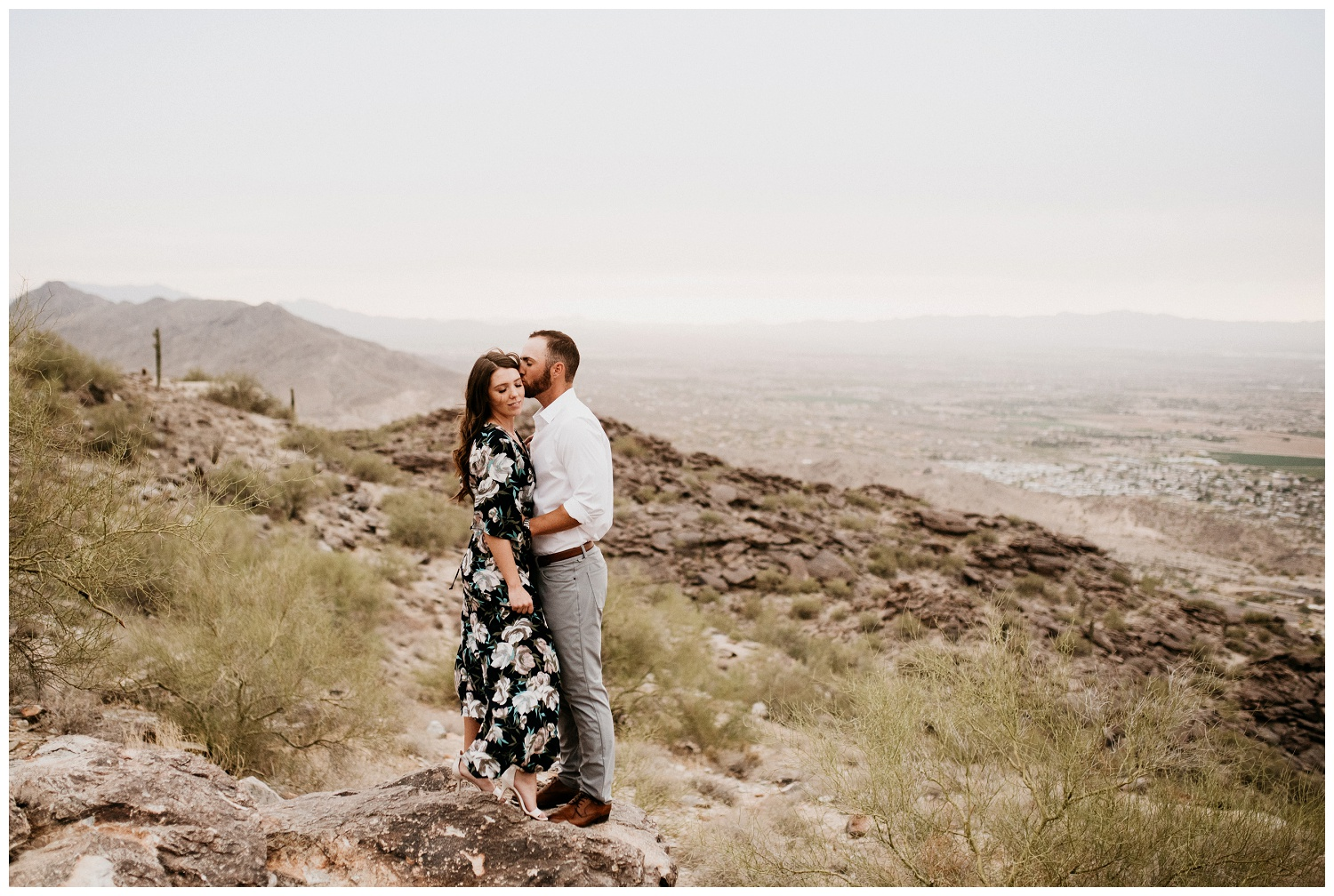 South Mountain Engagement Session Phoenix Wedding Photographer Ashtyn Nicole Photo 11