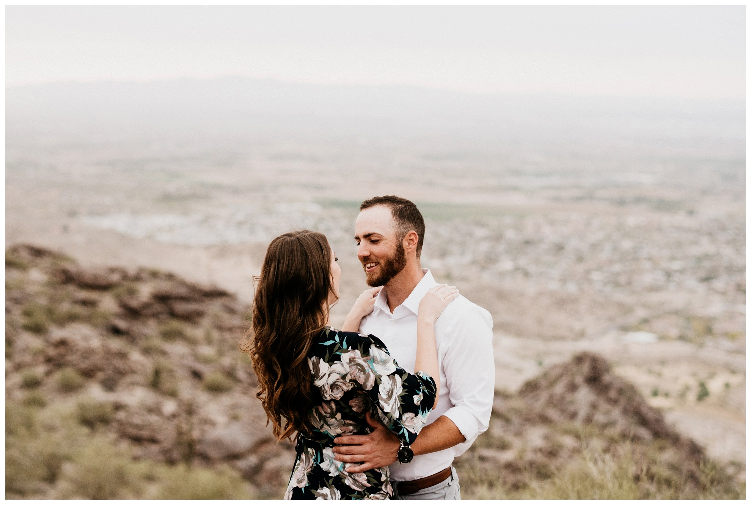 South Mountain Engagement Session Phoenix Wedding Photographer Ashtyn Nicole Photo 12