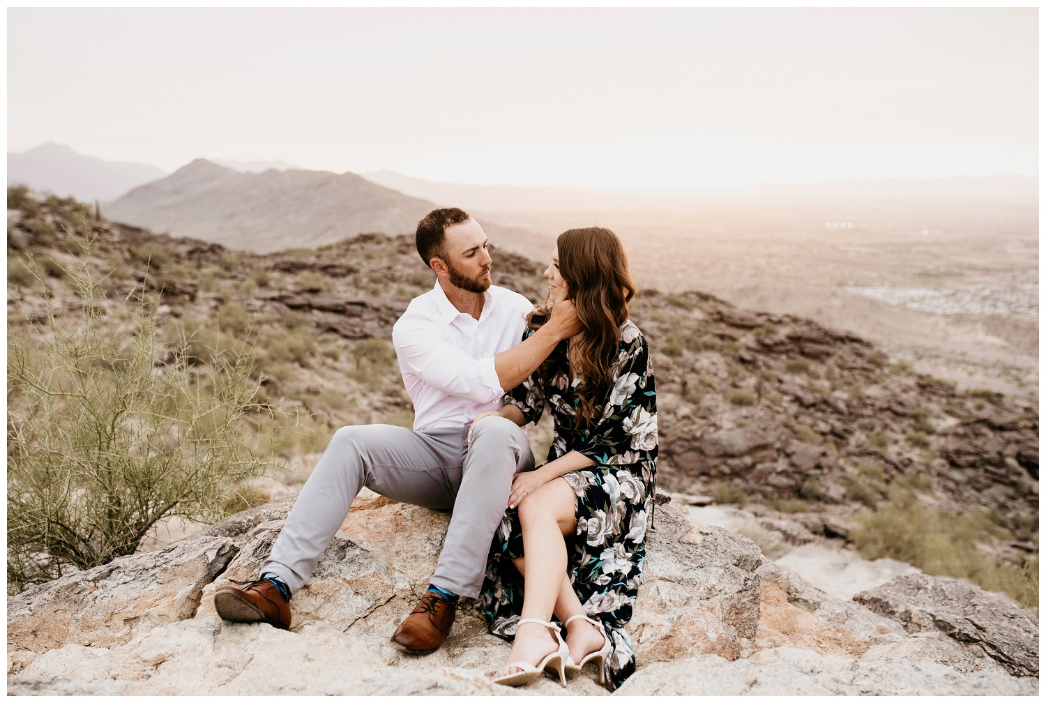 South Mountain Engagement Session Phoenix Wedding Photographer Ashtyn Nicole Photo 16