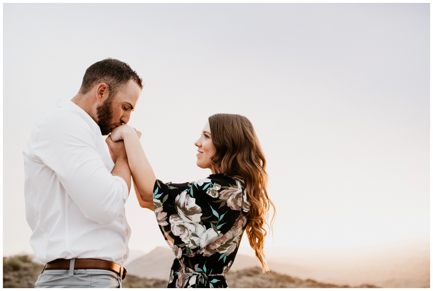 South Mountain Engagement Session Phoenix Wedding Photographer Ashtyn Nicole Photo 20