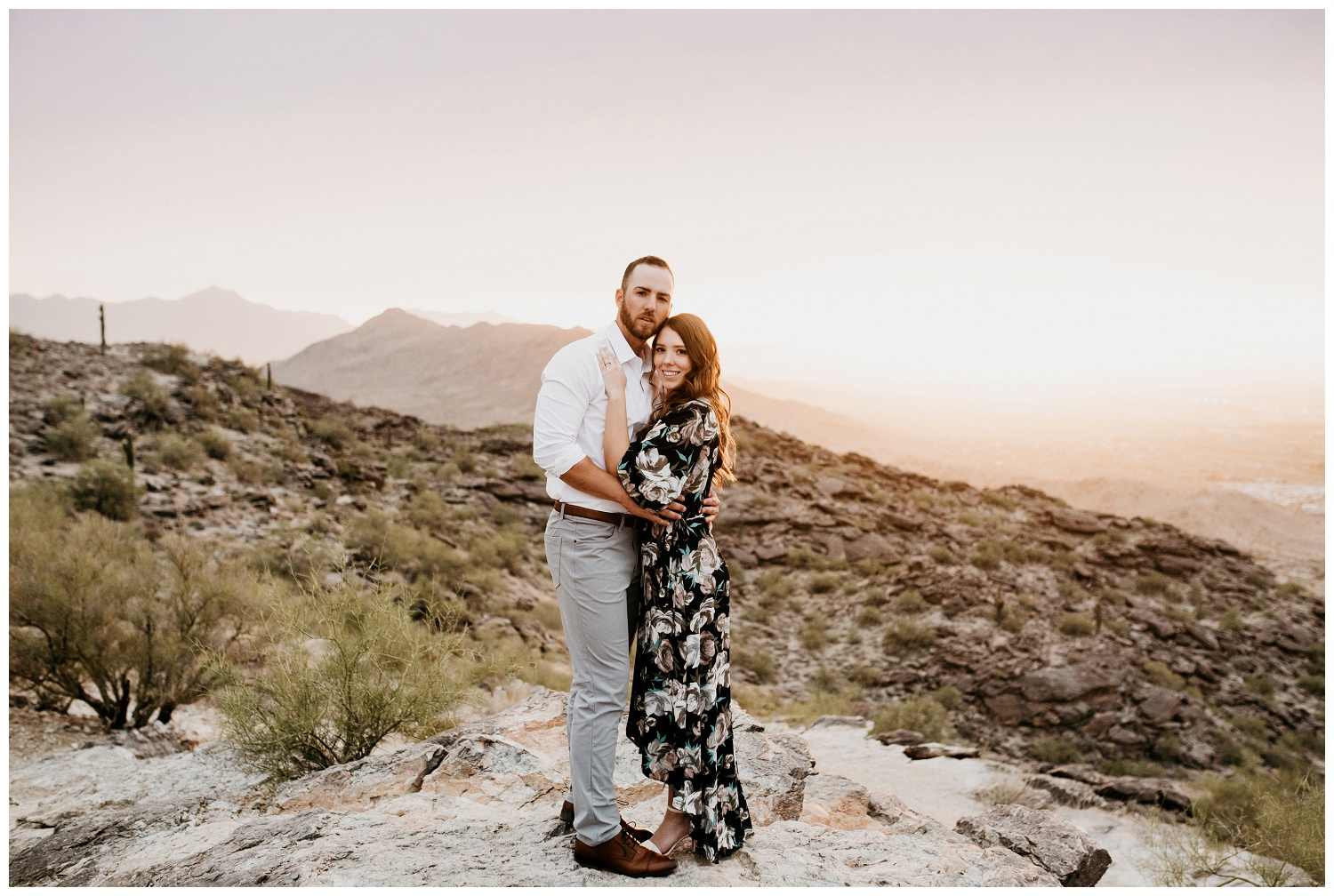 South Mountain Engagement Session Phoenix Wedding Photographer Ashtyn Nicole Photo 21