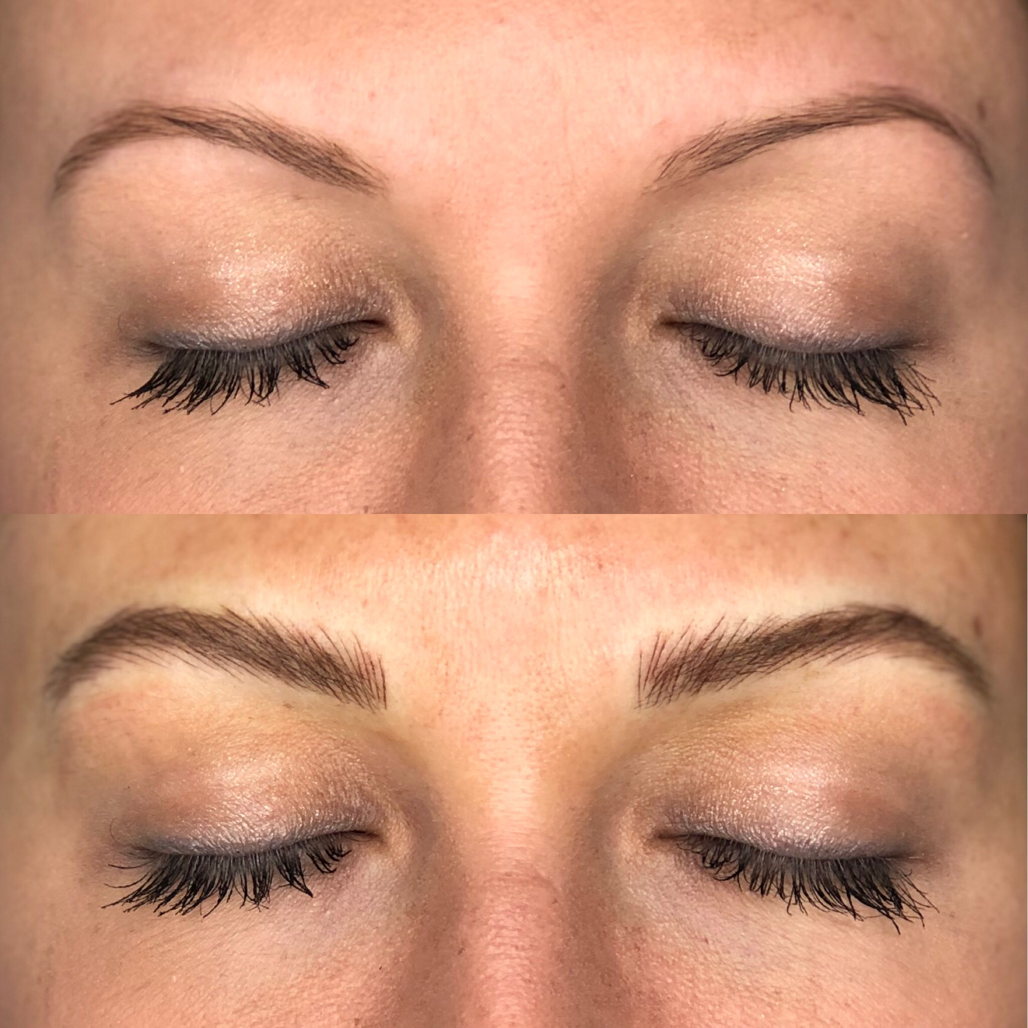 Microblading Before & After | Sage Cosmetic Tattoo