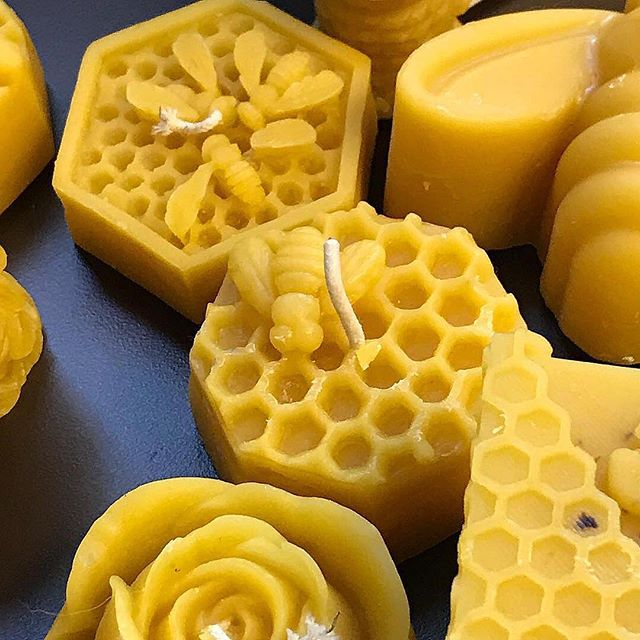 Pure beeswax candles restocked in the shop! Available at the link in the bio. 📷: @patrickfrat