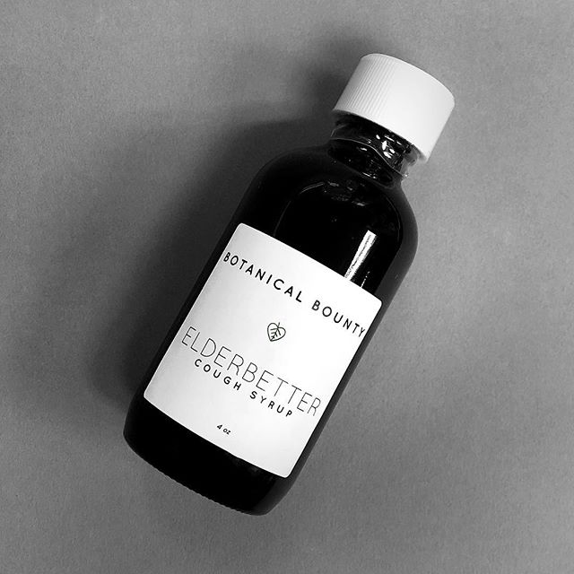 Cooler weather is upon us which means our Elderberry Syrup is back! 🍂 Feeling under the weather? Get better with elder. This glycerin tincture is prepared with the berries of Elderberry (Sambucus nigra) which is good for coughs, flus, and mucous build up. Traditionally it was applied to burns as well as used for cleansing the kidneys. What sets our physician formulated syrup apart is the addition of Horehound (Marrubium vulgare), an herb with antimicrobial and anti-inflammatory properties that is great for sore throats. ElderBetter Cough Syrup is a stimulating, healing remedy great for wintertime illnesses. Shop the link in the bio or pick up a bottle at our 57th Street shop! 🌱 . . . . . #botanicalbounty #botanicalbountynyc #shopsmall #smallbusiness #herbalremedies #naturalliving #naturalhealth #hollistic #health #wellness #naturalsolutions #holistichealing #naturalwellness #holisticwellness #naturalalternatives #healthandwellness #holistichealth #botanicals #botanical #herbal #coldandfluseason #coldandfluremedy #coldandflu #cough #coughremedy #elderberry #elderberrysyrup #sorethroat
