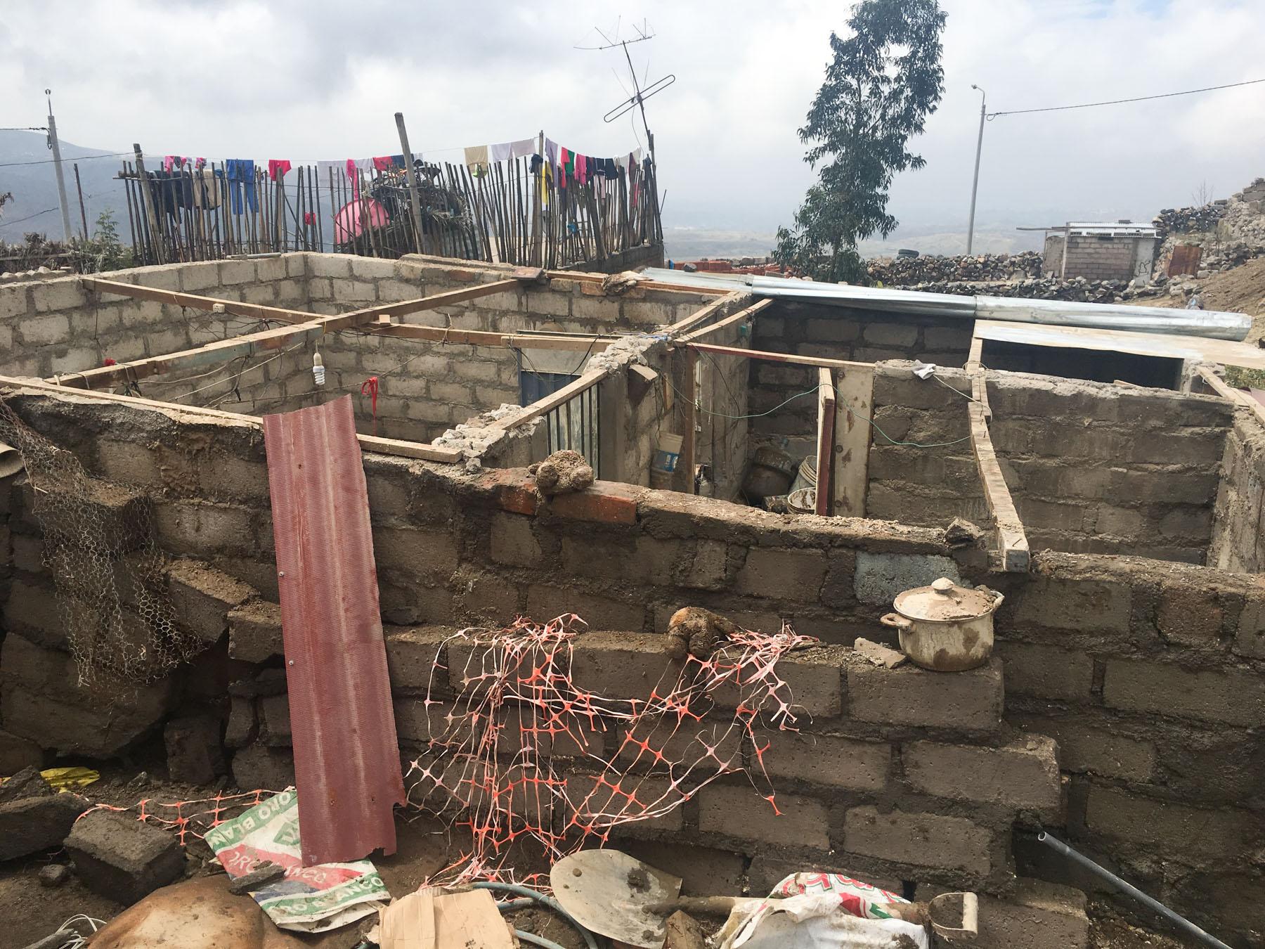 Over 50 homes damaged or destroyed