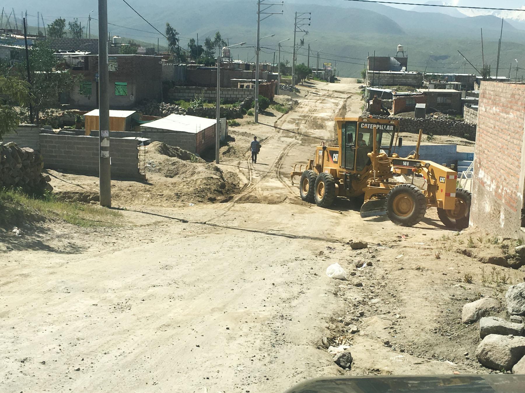 Rebuilding the roads