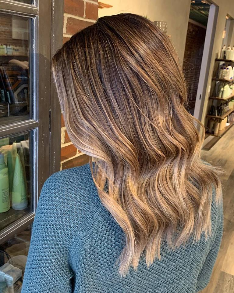 A deepened root, with a balayage and toned to a gorgeous, mushroom bronde.jpg