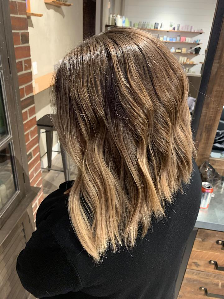 sombré paired with a textured, angled lob..jpg