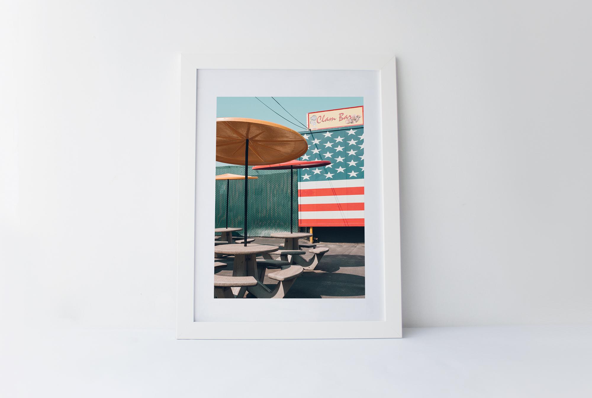 Clam bar   40cm x 60cm print Frame included