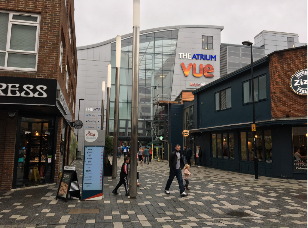 Leaflet distribution to Camberley, Surrey / GU15 -