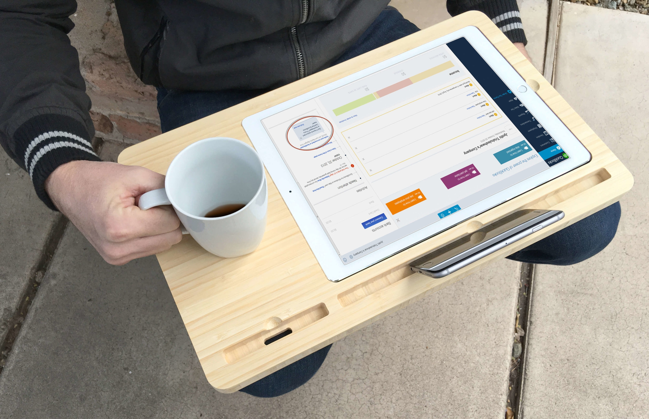 For iPad + Pro - Mobile Station