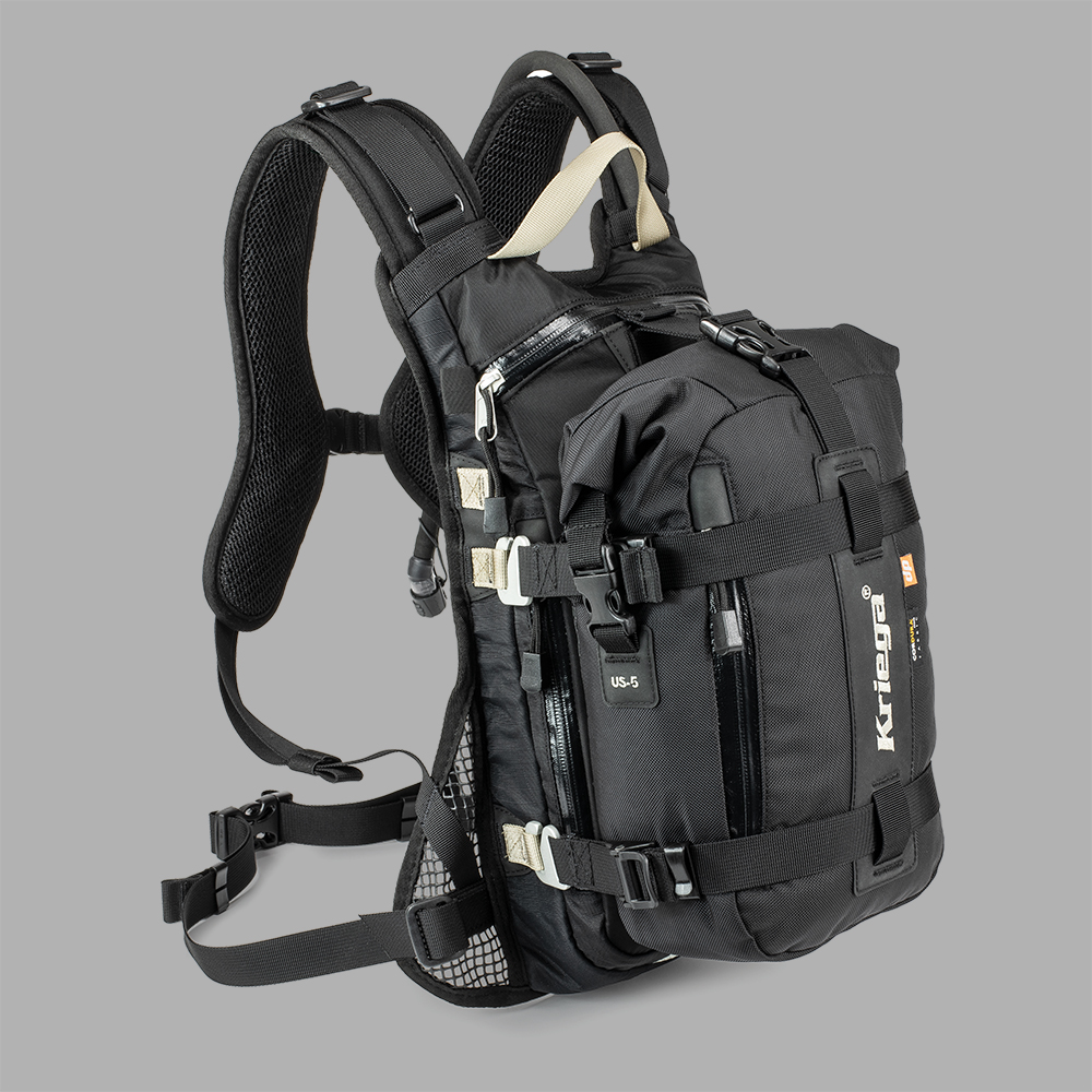 BACKPACK - HOOK-ON TO ANY KRIEGA BACKPACK FOR ADDITIONAL WATERPROOF STORAGE