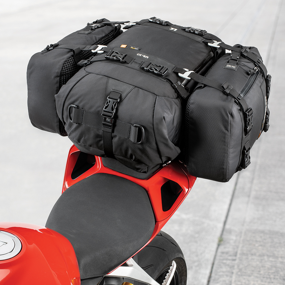 MODULAR - HOOK-ON ADDITIONAL US-DRYPACKS FOR MULTI-DAY TOURINGUS-COMBO 50 = US-30 + 2 x US-10
