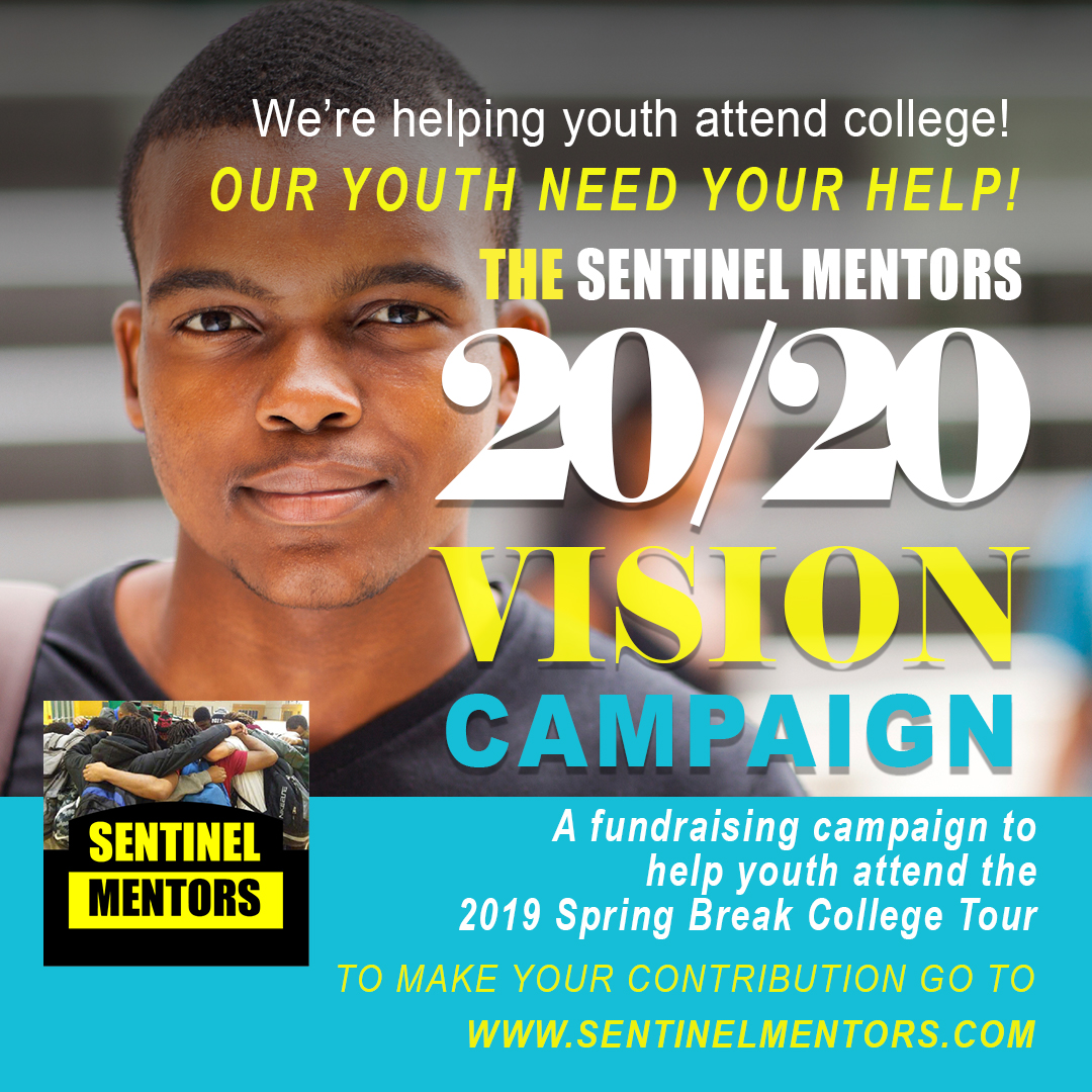 Sentinel Mentors is providing the first $200 for students to attend the 2019 Spring Break College Tour