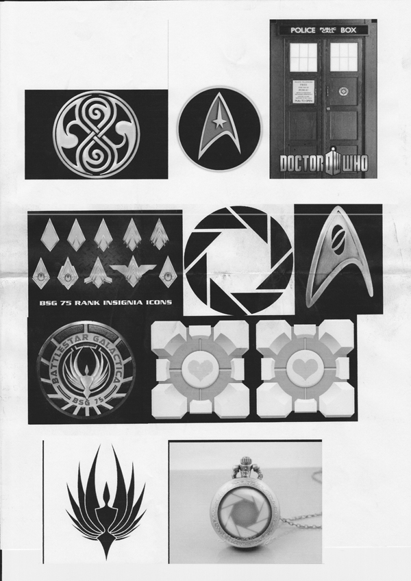 Tardis ring design references