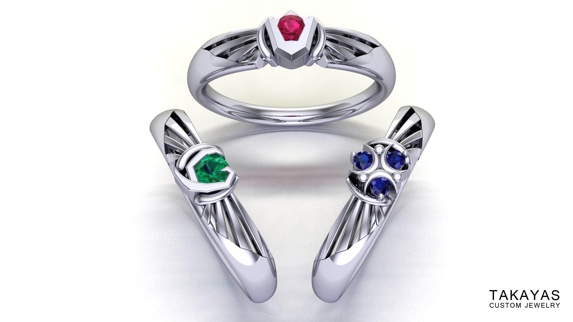 Zelda-Spiritual-Stone-Ring-Collection-Takayas