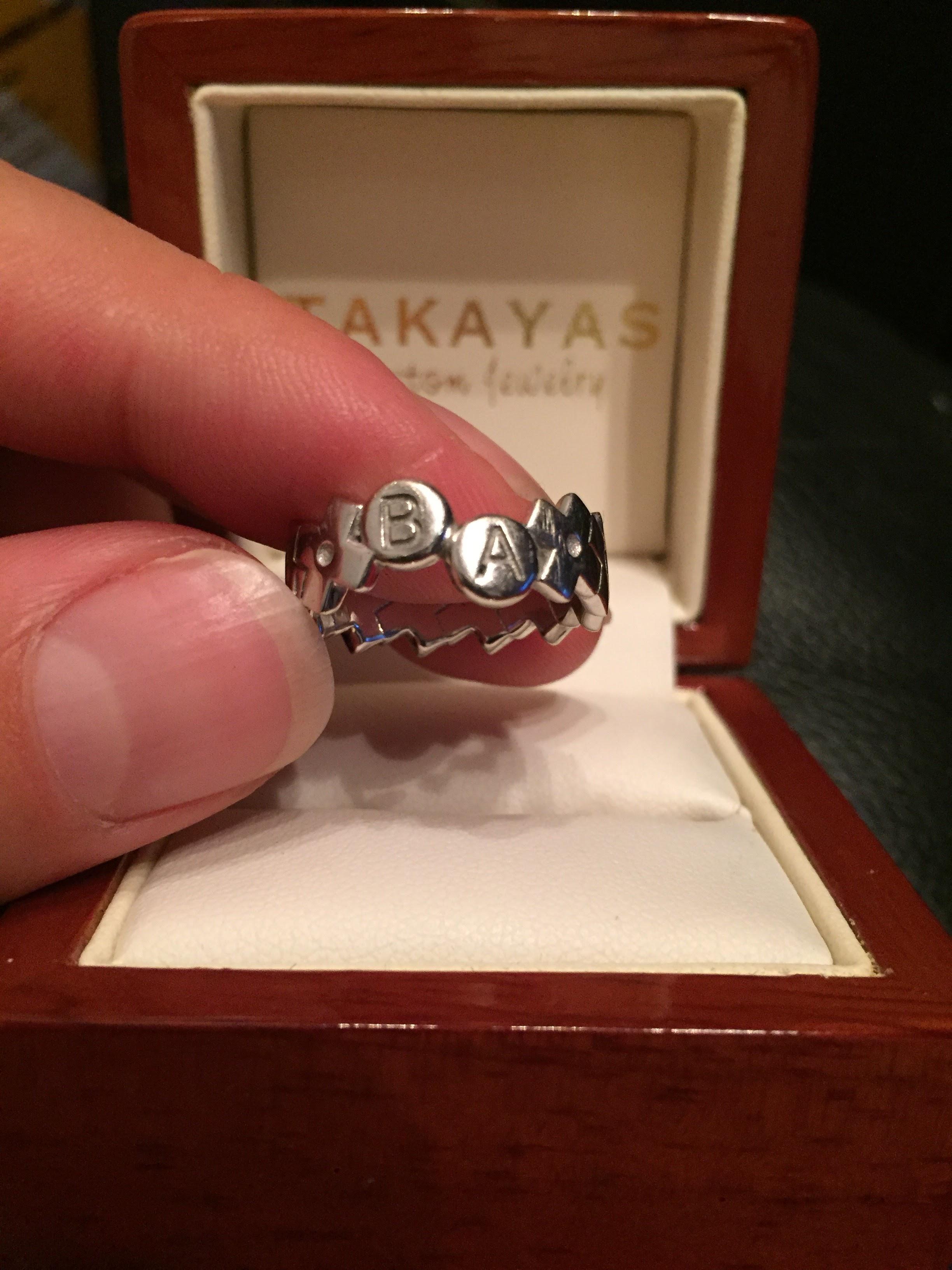 Takayas Custom Jewelry Konami Ring 1