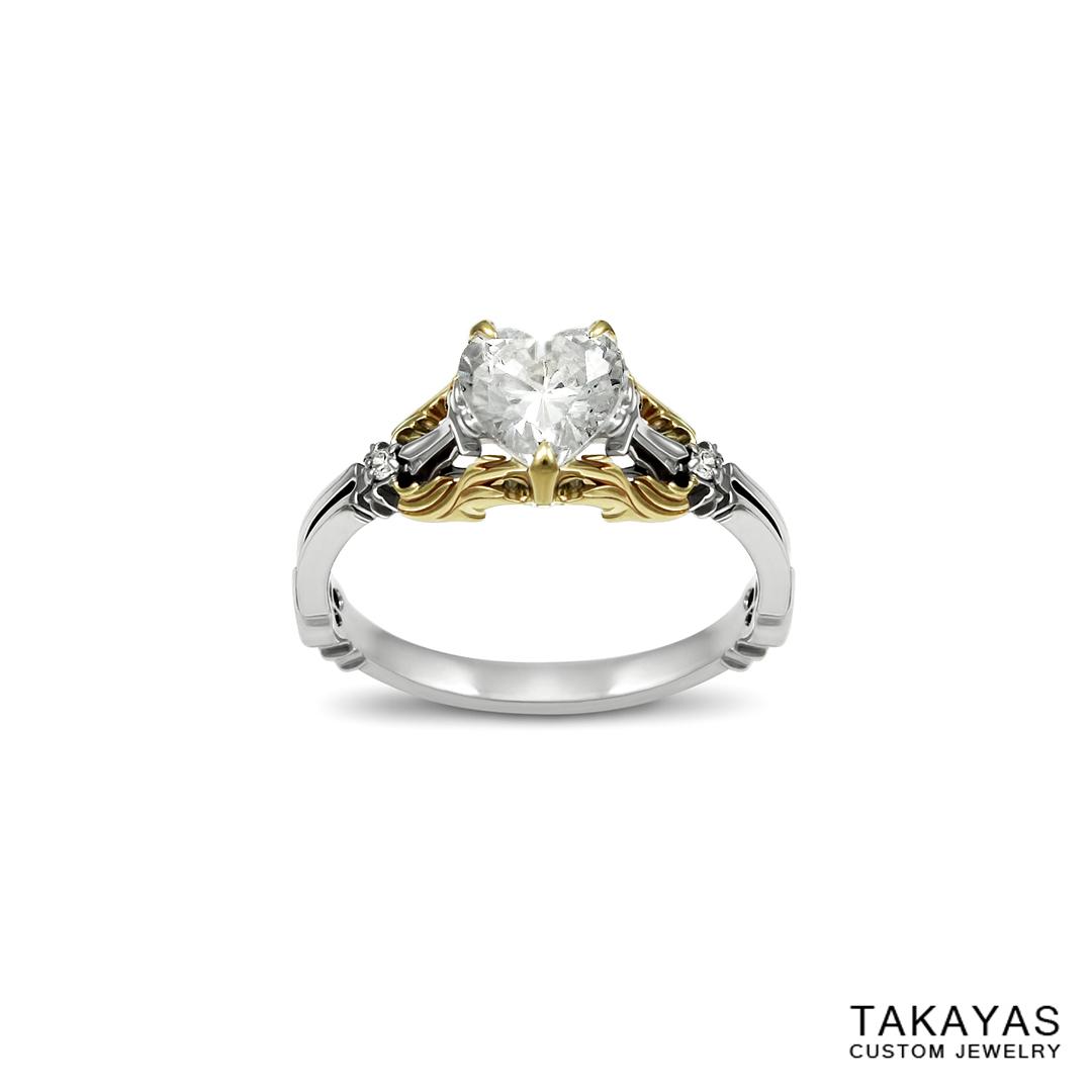 Kingdom Hearts Engagement Ring Takayas Custom Jewelry 1