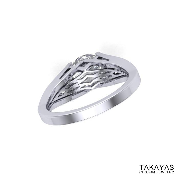 back-of-band-geometric-moissanite-palladium-ring-takayas-custom-jewelry