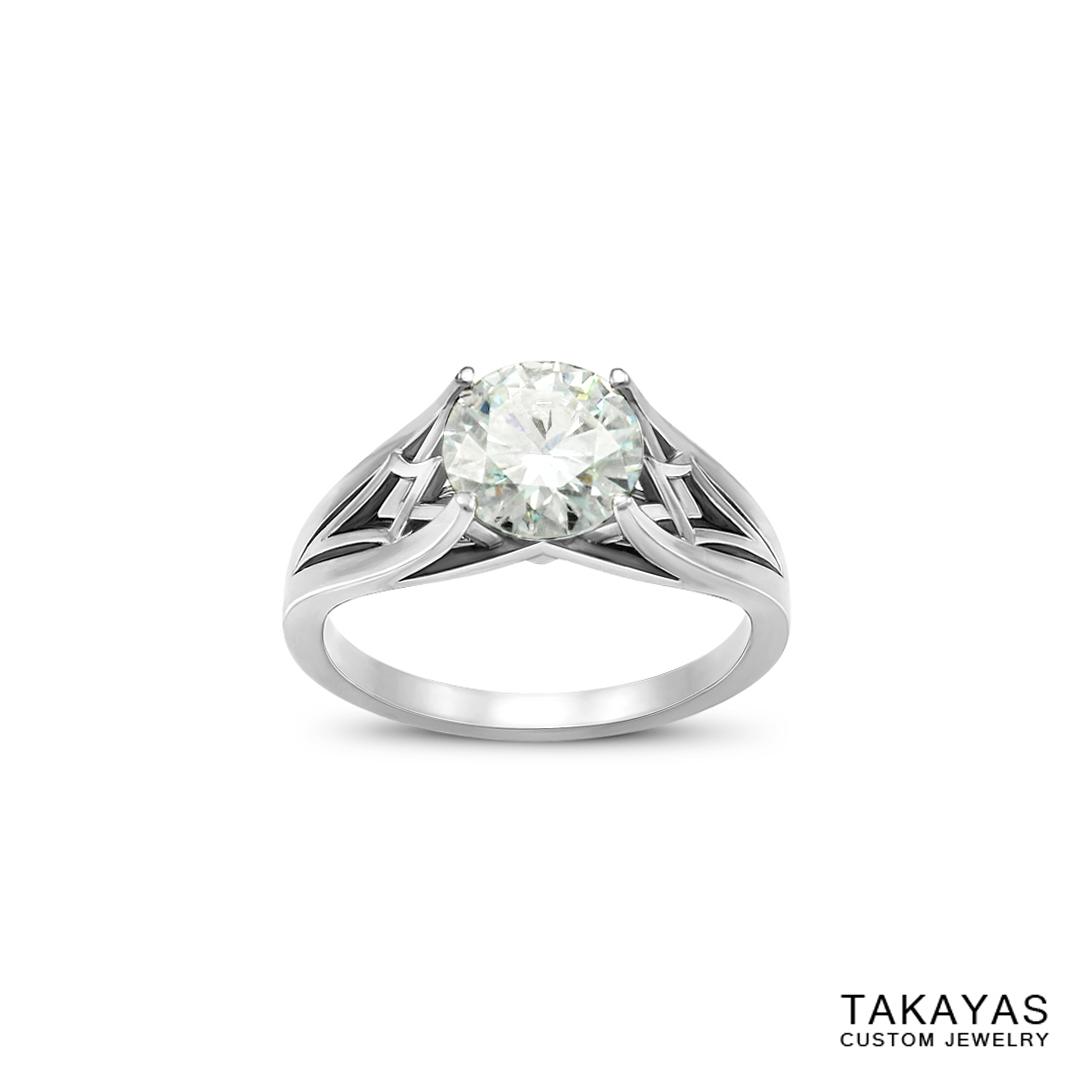 moissanite-palladium-geometric-enagement-ring-takayas-custom-jewelry-1