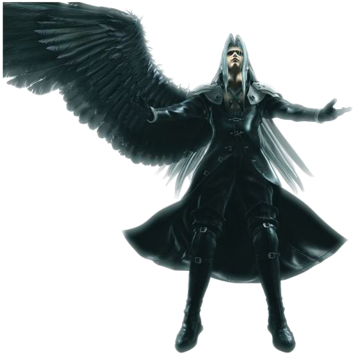 Sample image of Sephiroth's wing
