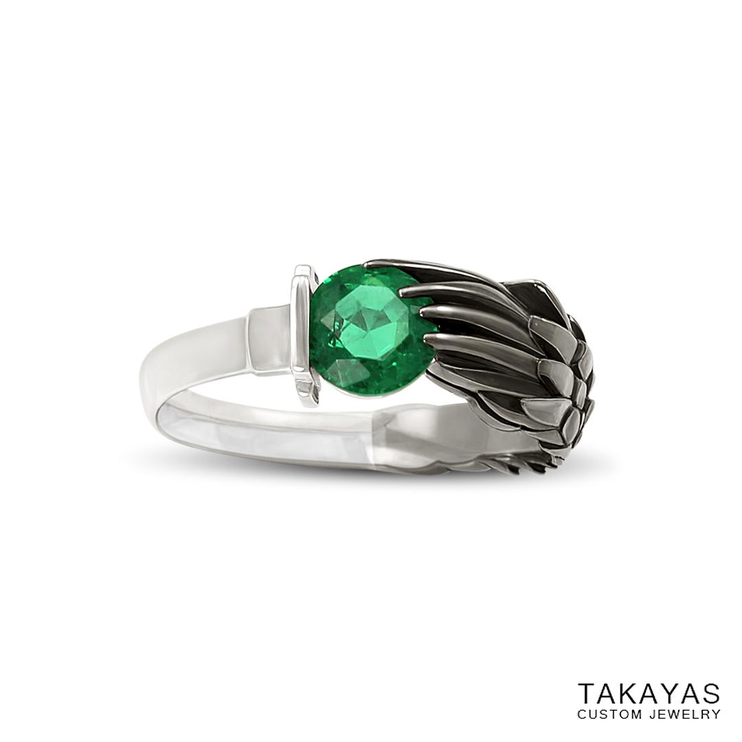 emerald-black-rhodium-sephiroth-ring-takayas