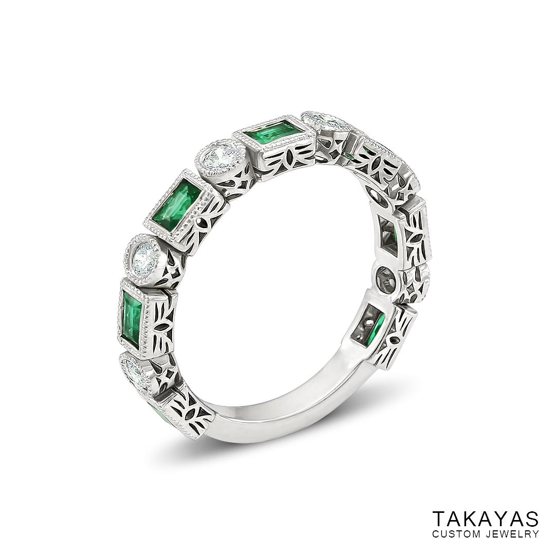 baguette-emerald-art-deco-wedding-ring-takayas