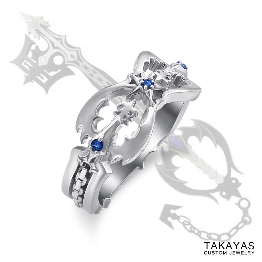 Kingdom Hearts Oblivion Wedding Ring by Takayas main image