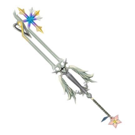 Kingdom Hearts Oathkeeper keyblade inspiration image for Takayas Custom Jewelry engagement ring