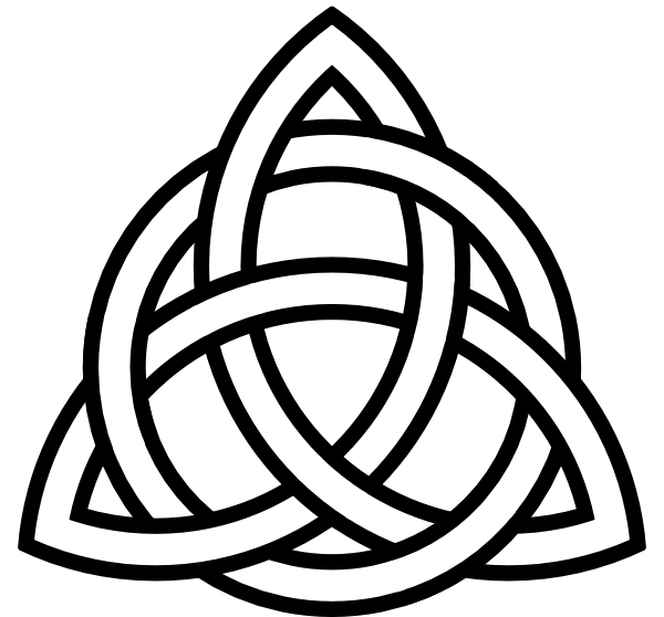 Celtic knot inspiration image for the Celtic Spiderman engagement ring by Takayas