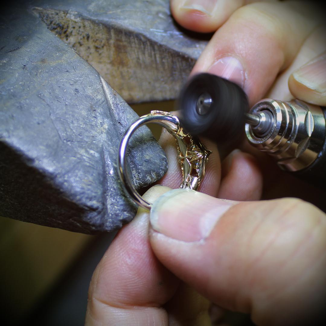 Takayas polishing the Articuno engagement ring