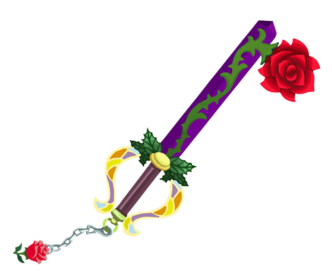 Divine Rose keyblade inspiration image