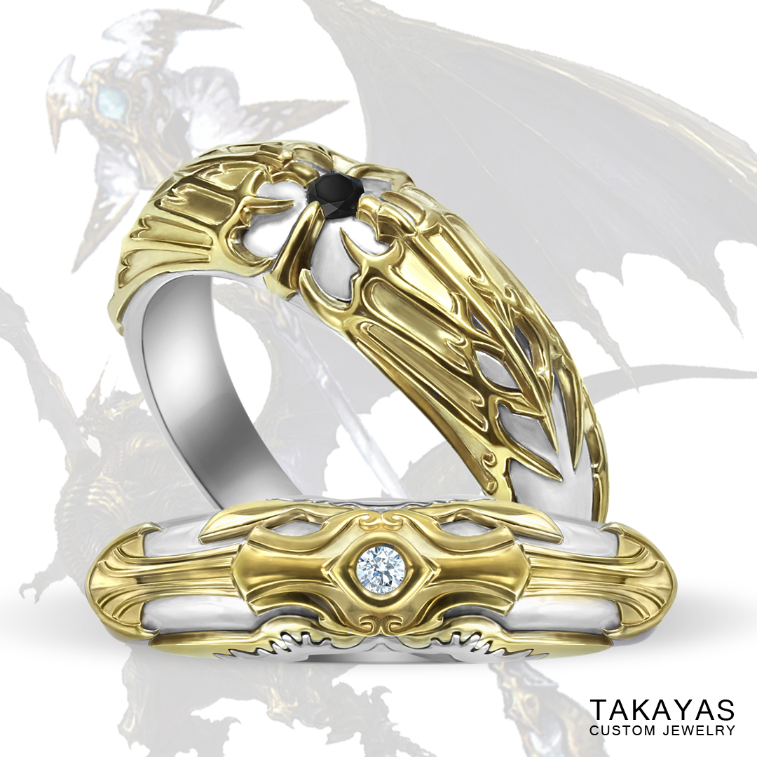 Final_Fantasy_inspired_wedding_set_Bahamut_White_Mage_by_Takayas-main_image.jpg