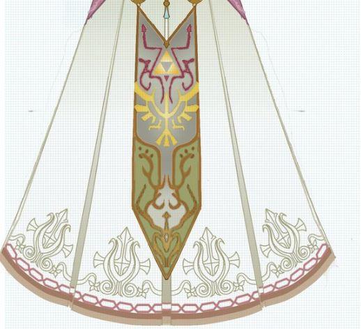 Princess Zelda's skirt