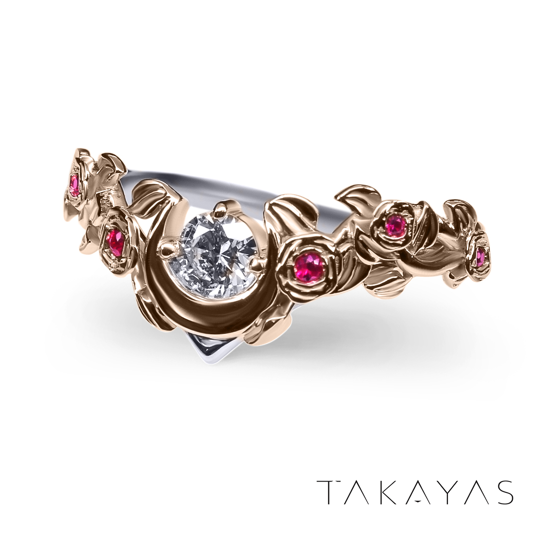 Design by Takayas Mizuno of Takayas Custom Jewelry.