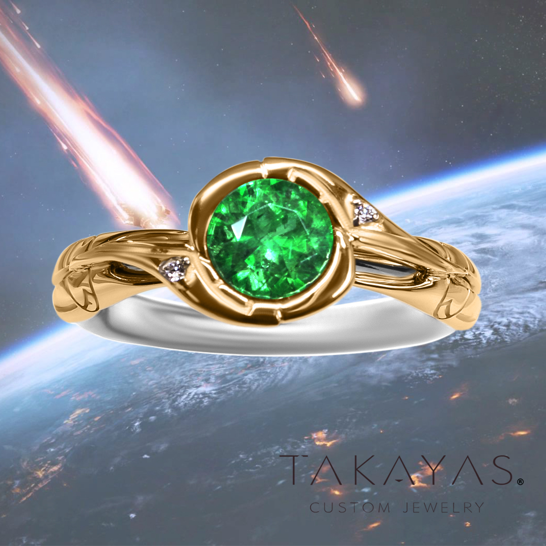 Design by Takayas Mizuno of Takayas Custom Jewelry