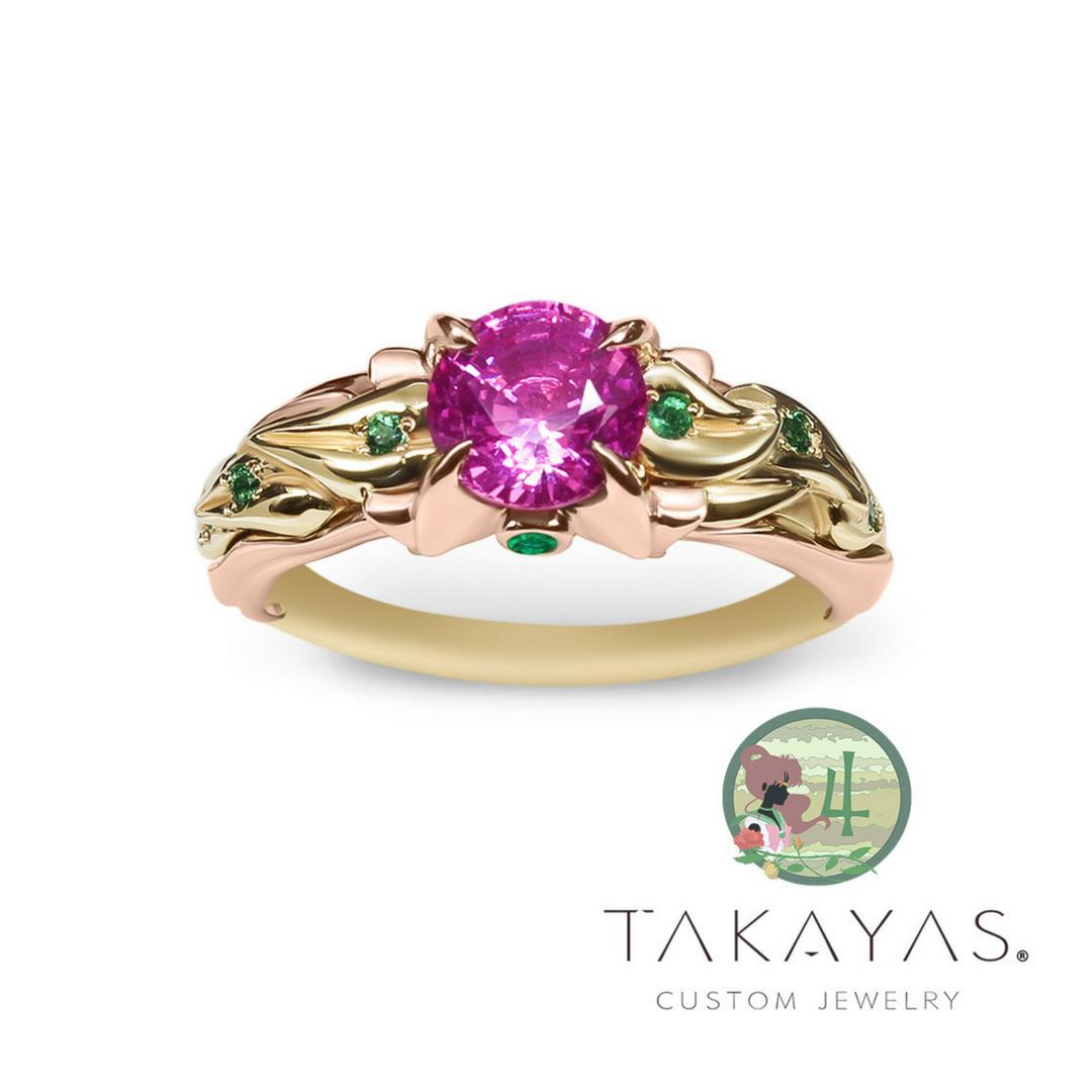 Design by Takayas Mizuno of Takayas Custom Jewelry.